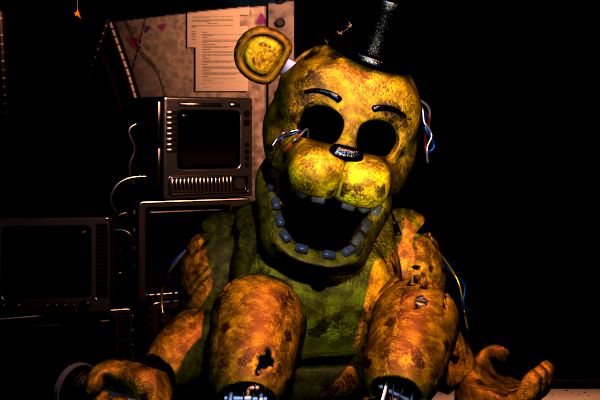 Withered Golden Freddy(FNAF2)