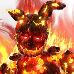 Flaming Springtrap