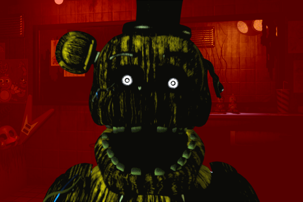 Phantom Freddy(FNAF3)